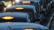 The famous taxis date back to the end of the Second World War, when the first Austin FX3 cabs rolled off the production line. (LUKE MACGREGOR/Reuters)