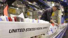 Mail is processed at the main post office in Chicago. (Scott Olson/2006 Getty Images)