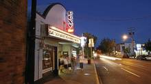 The Roxy Classic Theatre on Quadra Street in Victoria has gone up for sale. (Deddeda Stemler for The Globe and Mail)