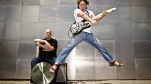 League of Rock's Terry Moshenberg, right, and business partner Topher Stott (TIM FRASER FOR THE GLOBE AND MAIL)