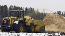 Tembec operations in Senneterre Que. The company reported a loss of $17-million in the latest quarter, largely due to maintenance upgrades at a B.C. mill. (Jacques Boissinot/The Canadian Press/Jacques Boissinot/The Canadian Press)