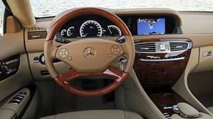 Inside the 2011 Mercedes-Benz CL 550