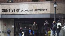 The Dalhousie University dentistry building is seen in Halifax on Monday, Jan. 12, 2015. THE CANADIAN PRESS/Andrew Vaughan (Andrew Vaughan/THE CANADIAN PRESS)
