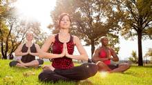 Finding balance with a positive view. (Tyler Olson/Getty Images/Hemera)