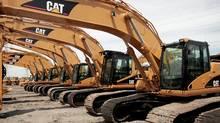Caterpillar equipment (Scott Olson/2006 Getty Images)