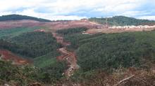 File photo of the site of the Ambatovy nickel mine in Madagascar. (Geoffrey York/The Globe and Mail)