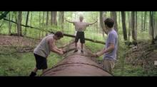 The Kings of Summer follows three young men who build a home in the woods.