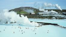 Iceland's Svartsengi geothermal power plant and Blue Lagoon spa (Vincent Fournier/Index Stock Imagery/Vincent Fournier/Index Stock Imagery)