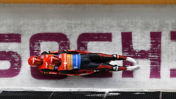 Luge joined the Winter Olympics program in 1964. The event has consisted traditionally of a men's individual race, a women's individual race and a doubles race. At Sochi this year, a fourth competition will be added – the luge team relay (mixed). (Alexander Zemlianichenko/The Associated Press)