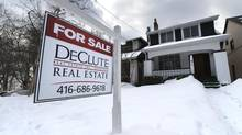 A looming price decline could undo at least some of homeowners' recent net worth gains. (Fred Lum/The Globe and Mail)
