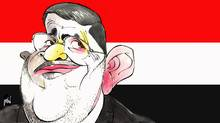 Mohamed Morsi (Anthony Jenkins/The Globe and Mail)