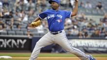 Toronto Blue Jays relief pitcher Darren Oliver (Kathy Kmonicek/The Associated Press)