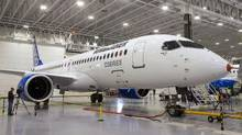 Although Ottawa has lauded the C Series plane and called Bombardier an anchor company for Canada's aerospace industry, it has expressed reservations about its executive structure. (Ryan Remiorz/THE CANADIAN PRESS)