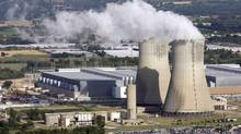 A general view shows the French nuclear Tricastin site in southeastern France. Areva Group already has a joint venture with Urenco and uses its uranium centrifuge technology at its new Georges Besse II plant in Tricastin. (STRINGER/FRANCE/REUTERS)