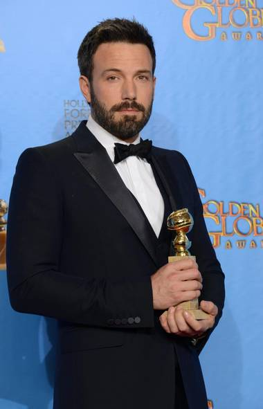 "Ben Affleck won the best director award for ""Argo,"" which also won the award for best dramatic film. (Jordan Strauss/AP)"