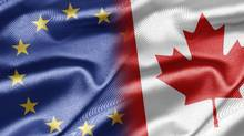 Canada and the 28-country European Union announced back in September, 2014, that they had wrapped up negotiations on a massive trade agreement (ISTOCKPHOTO)