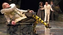 """Tom Rooney as Malvolio in """"Twelfth Night"""" at the Stratford Shakespeare Festival (Stratford Shakespeare Festival //Cylla von Tiedemann)"""