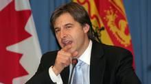 New Brunswick Premier Shawn Graham (Charles-Antoine Gagnon)