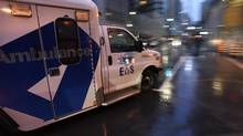 The emergency department at St. Michael's Hospital in downtown Toronto is photographed on Oct. 20 2016. (Fred Lum/The Globe and Mail)