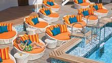 Crystal Serenity's new pool deck. (Ian Schemper)