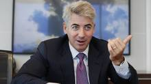 Hedge fund manager William Ackman of Pershing Square Capital Management during an interview in New York, Sept. 27, 2010. (© Shannon Stapleton / Reuters/Shannon Stapleton/Reuters)