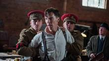 BENEDICT CUMBERBATCH stars in THE IMITATION GAME. (Jack English)