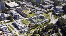 UBC campus in Vancouver. (Globe files/Globe files)