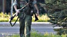 The Royal Canadian Mounted Police posted this picture on their Facebook site on Wednesday, June 4, 2014, with a warning that they are searching in north Moncton for 24-year-old Justin Bourque. (Viktor Pivovarov/Moncton Times & Transcript)