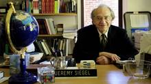 Jeremy Siegel, a professor of finance at the University of Pennsylvania's Wharton School (MATT ROURKE)