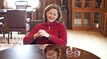 Alberta Premier Alison Redford. (JASON FRANSON FOR THE GLOBE AND MAIL)