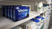 A box of Viagra, typically used to treat erectile dysfunction. (MARK BLINCH/REUTERS)