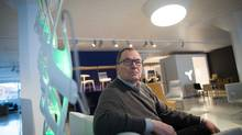 Inform Interiors and Bensen Manufacturing owner, Niels Bendtsen, poses for a photograph in Vancouver, B.C., on Monday January 9, 2017. (Darryl Dyck/The Globe and Mail)