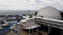 My Ontario Place Pavilion, a new interactive, idea-sharing pavilion at Ontario Place launched on August 17, 2010. The ideas will be collected and used to revitalize the park for its 40th anniversary. (Sarah Dea/The Globe and Mail)
