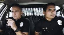 """Screen grab from trailer for """"End of Watch"""""""
