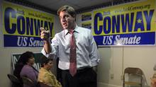 Jack Conway, U.S. Democratic Senate candidate. (Miranda Pederson/The Associated Press/Miranda Pederson/The Associated Press)