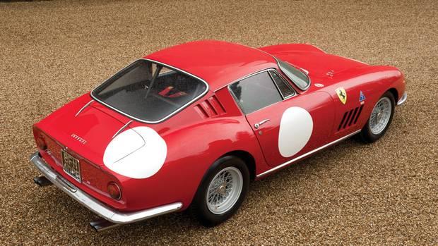 1966 Ferrari 275 GTB/C by Scaglietti: Estimated sale price:€4,300,000 - €5,000,000. (Courtesy of RM Auctions)