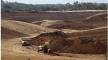 File photo of a B2Gold mine in Nicaragua. (Handout)