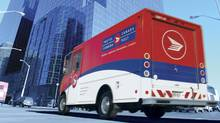 Postal truck (handout from Canada Post )
