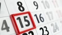 calendar page (Sergii Gnatiuk/Getty Images/iStockphoto)