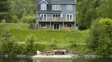 A cottage in Bracebridge, Ont. (FRED LUM/THE GLOBE AND MAIL)
