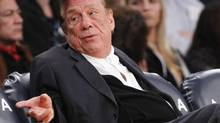 In this Dec. 19, 2011, file photo, Los Angeles Clippers owner Donald Sterling gestures while watching the Clippers play the Los Angeles Lakers during an NBA preseason basketball game in Los Angeles. Sterling only dug himself into a deeper hole after slamming Magic Johnson when he was supposed to be atoning for his own racist remarks. But he's not the first celebrity to learn the perils of making a non-apology apology. (Danny Moloshok/AP)