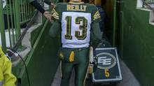 Quarterback Mike Reilly's play has been one of the few bright spots for Edmonton this season, but he's still partially responsible for the Esks' woes. (Reuters)
