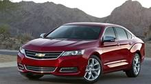 The Chevrolet Impala, built in Oshawa, has become the symbol of a reinvented General Motors. (General Motors)