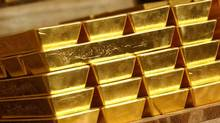 Eldorado's agreement with European Goldfields, announced Sunday, comes at a time when gold prices have been hit hard. (Reuters/Reuters)