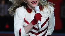Madonna in concert during her MDNA Tour at the Air Canada Centre in Toronto on September 12, 2012. (Teresa Barbieri for The Globe and Mail)