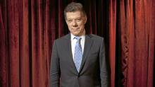 Colombian President Juan Manuel Santos Calderon is photographed at the Ritz Carlton in Toronto Sep. 22, 2011. (Moe Doiron/The Globe and Mail)
