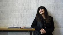 Ruth Reichl, former restaurant critic for the New York Times and Los Angeles Times and also the editor-in-chief of Gourmet Magazine is photographed at Bar Buca in Toronto on May 26 2014. (Fred Lum/The Globe and Mail)