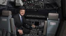 File photo of Marc Parent, president and chief executive officer of aircraft simulation company CAE Inc. (Christinne Muschi For The Globe and Mail)