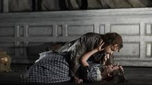 Stephen Costello as Edgardo and Anna Christy as Lucia in the Canadian Opera Company's production of Lucia di Lammermoor. (MICHAEL COOPER)