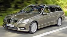 2011 Mercedes-Benz E350 4matic wagon. (Mercedes-Benz)